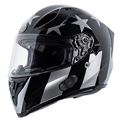 Torc T15B Bluetooth Motorcycle Helmet