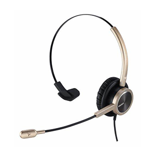 Mairdi MRD 809D (Gold) Contact Center Office Headset