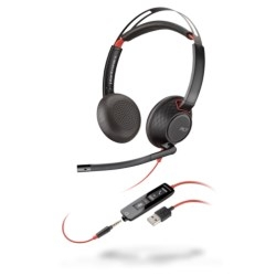 Plantronics Blackwire 5200 Series<br>Rating: **** | Price: $$$$